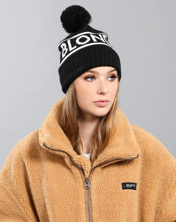 Accessory - Brunette The Label 'Blonde' Toque
