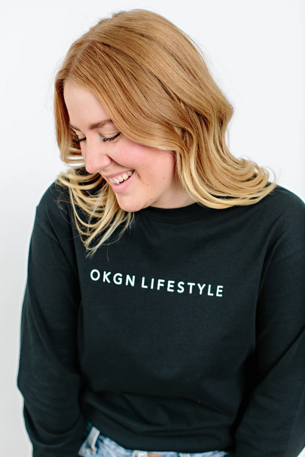 Top - Okanagan Lifestyle OKGN Long Sleeve Tee