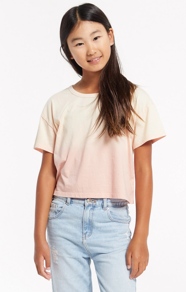 Top - Z Supply Kids Nattie Ombre Organic Tee