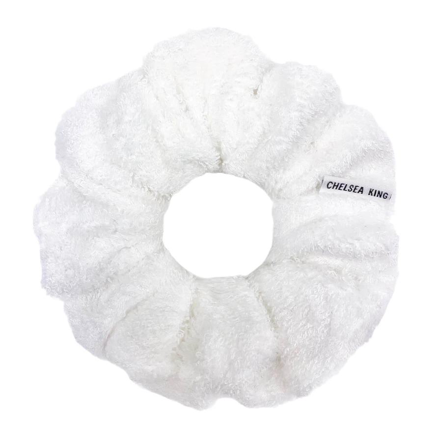 Accessory - Chelsea King Spa Bamboo Terry Classic Scrunchie