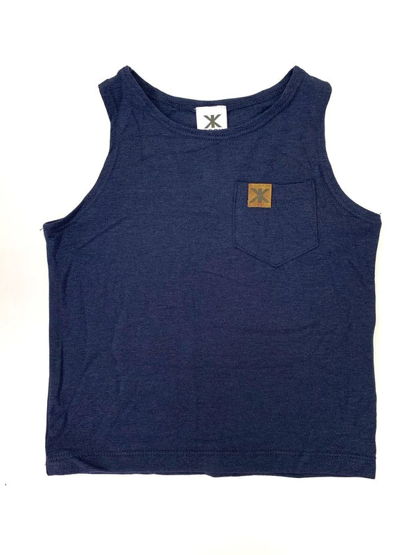 Top - Brok Boys Kids Bamboo Pocket Tank