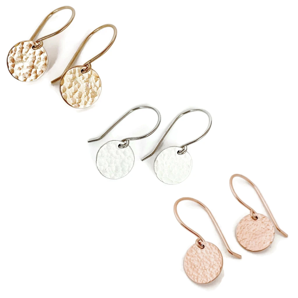 Jewelry - Ebb & Flow Disc Earrings