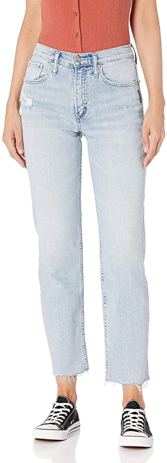 Pants - Silver Jeans Frisco High Rise Straight Jean