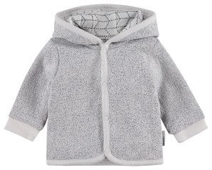 Top - Noppies Organic Kids Unisex Reversible Hooded Sweater