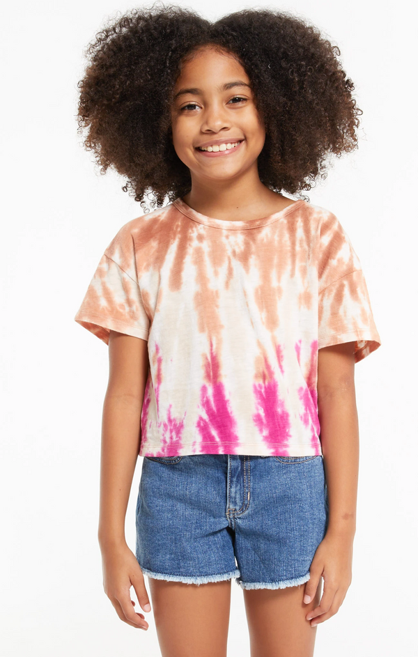 Top - Z Supply Kids Nattie Tie Dye Tee