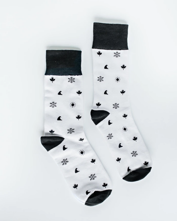 Accessory - Okanagan Lifestyle 4 Icon Socks
