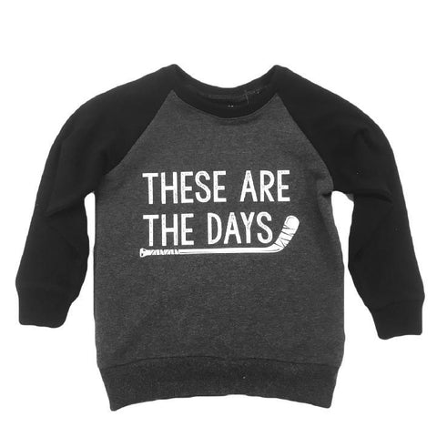 Top - Kids These Are The Days Sweatshirt