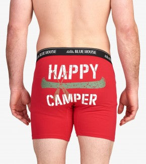 Accessory - Hatley Happy Camper Men's Boxer Briefs
