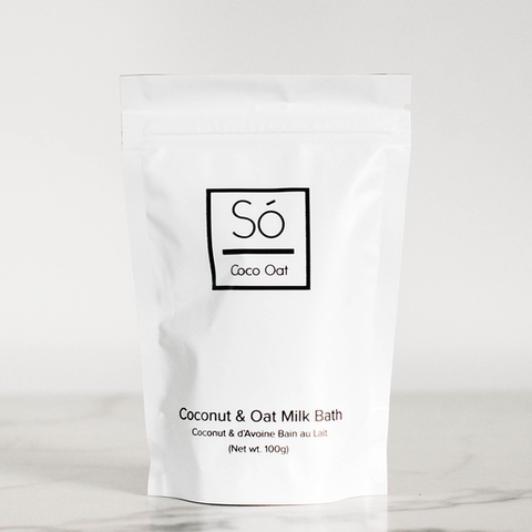 Bath & Beauty - So Luxury Coco Oat Milk Bath Bag