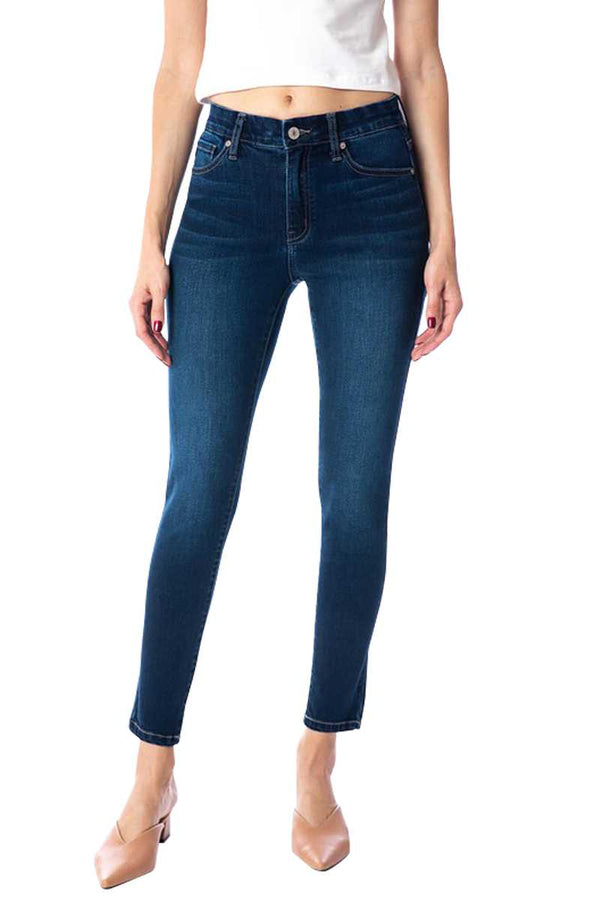 Pants - Mid Rise Skinny Ankle Denim Jeans