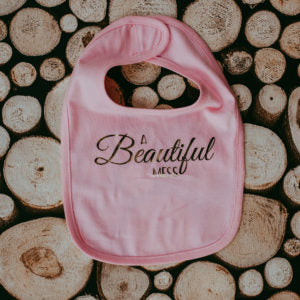 Accessory - Lace Brick Design A Beautiful Mess Bib
