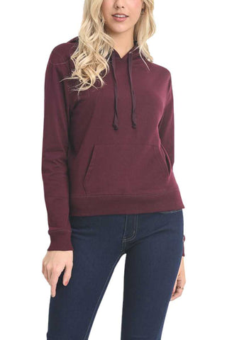 Top -  Long Sleeve French Terry Hoodie