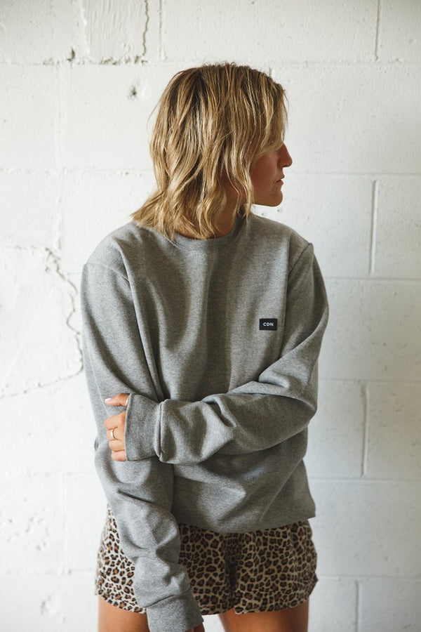 Top - CDN Unisex Cotton Patch Crewneck
