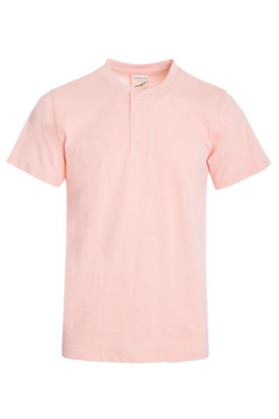 Top - Premium Short Sleeve Henley T-Shirt