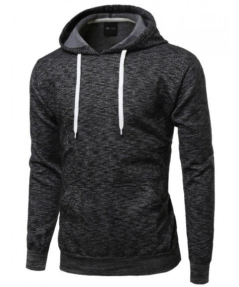 Top - Two Tone Pullover Hoodie