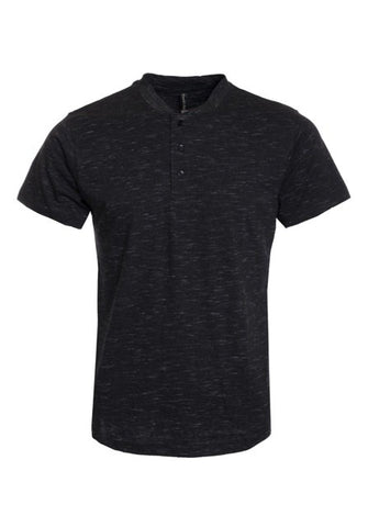 Top - Henley Short Sleeve T-Shirt