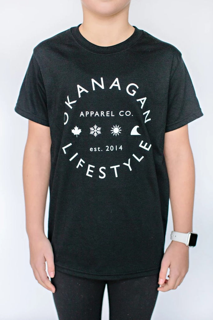 Top - Okanagan Lifestyle Youth Front Classic Tee