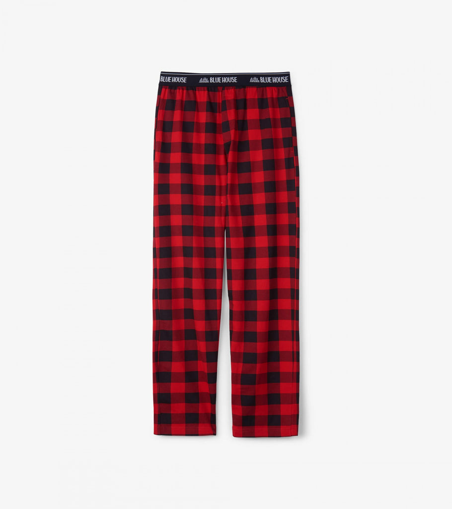 Pyjama - Hatley Men's Buffalo Plaid Jersey Pants