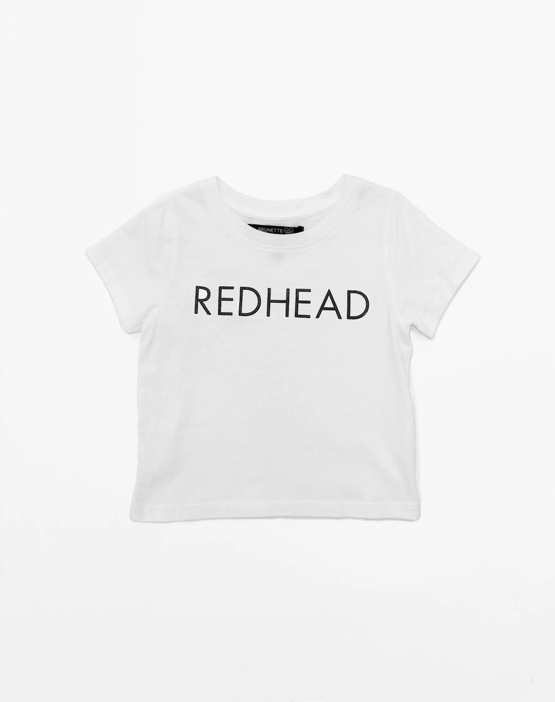Top - Brunette The Label Kids 'Redhead' Tee