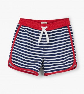 Swimsuit - Hatley Kids Nautical Stripes Swim Shorts
