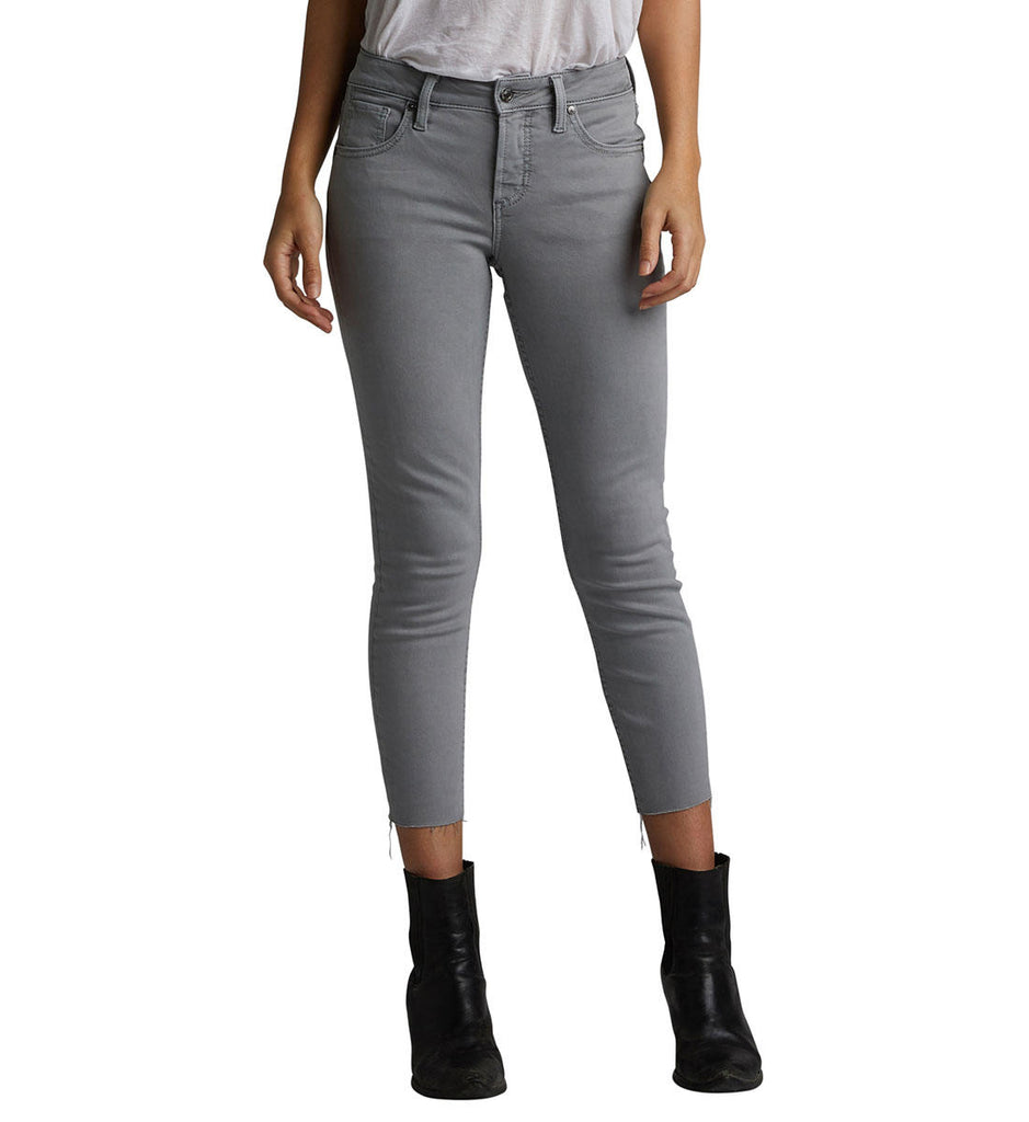 Pants - Silver Jeans Avery Skinny Crop Jeans