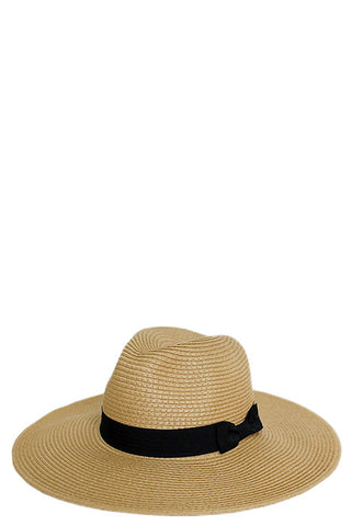Accessory - Wide Brim Panama Soft Toyo Straw Hat