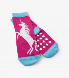 Accessory - Hatley Kids Glow Unicorn Socks