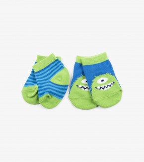 Accessory - Hatley Kids Monster Socks (2 Pack)
