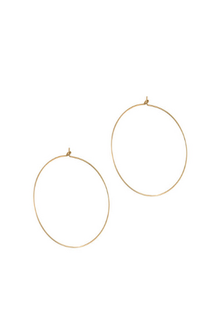 Accessory - Lavender & Grace Serena Hoopes Earrings