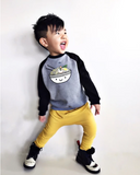 Top - Whistle & Flute Kids Kawaii Ramen Raglan Sweatshirt