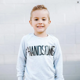 Top - Posh & Cozy Youth Handsome Crewneck