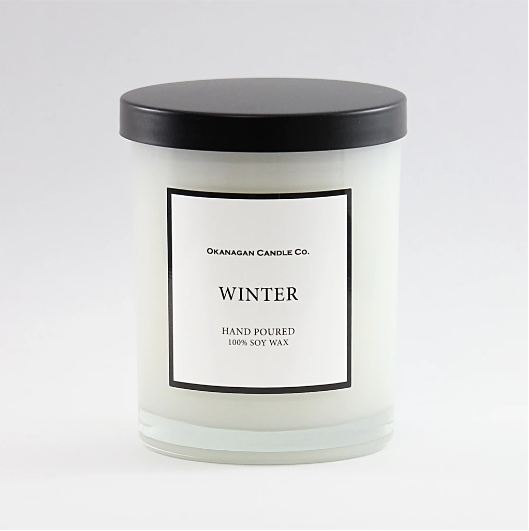 Gift - Okanagan Candle Co. - Winter Candle