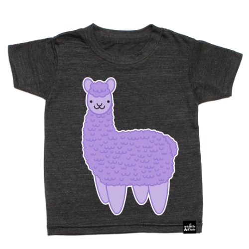 Top - Whistle & Flute Kids Kawaii Alpaca Tee