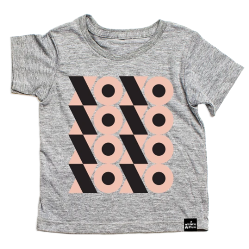 Top - Whistle & Flute Kids Modern XOXO Tee