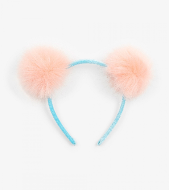 Accessory - Hatley Kids Fluffy Pom Poms Headband
