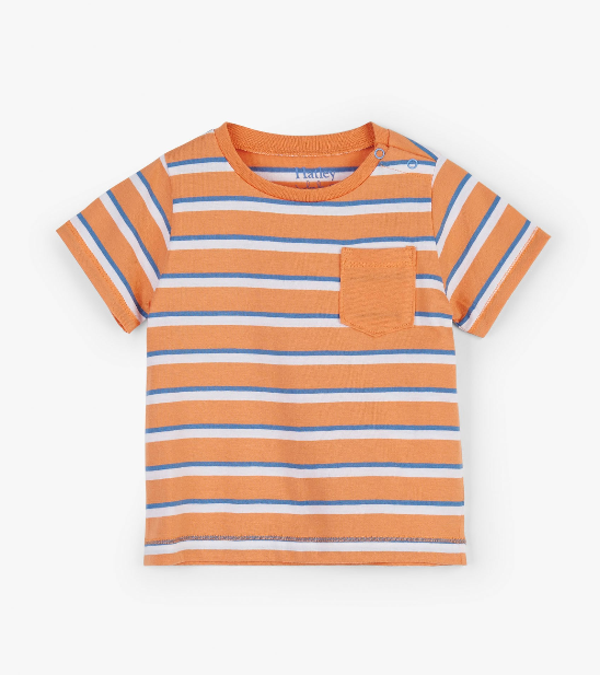 Top - Hatley Kids Stripe Short Sleeve Tee