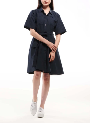 Dress - Emma Knudsen Kelsey Button Up Dress