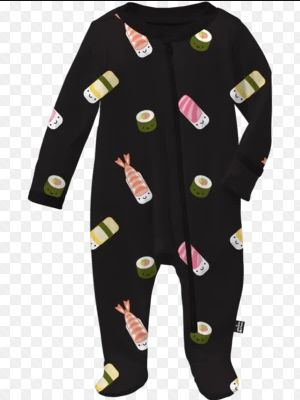 Pyjama - Whistle & Flute Kids Kawaii Sushi Footed Sleeper