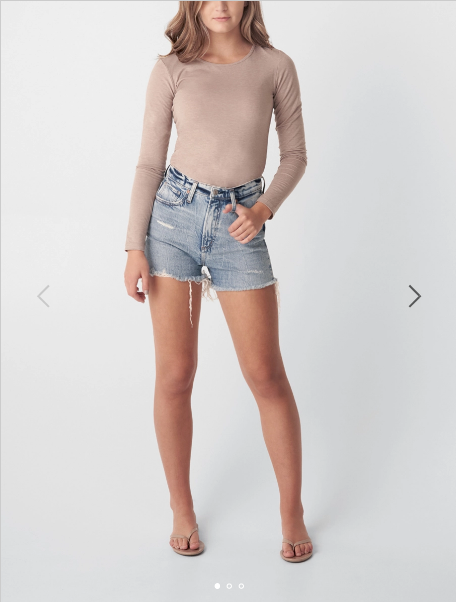 Shorts - Silver Jeans Highly Desirable High Rise Shorts