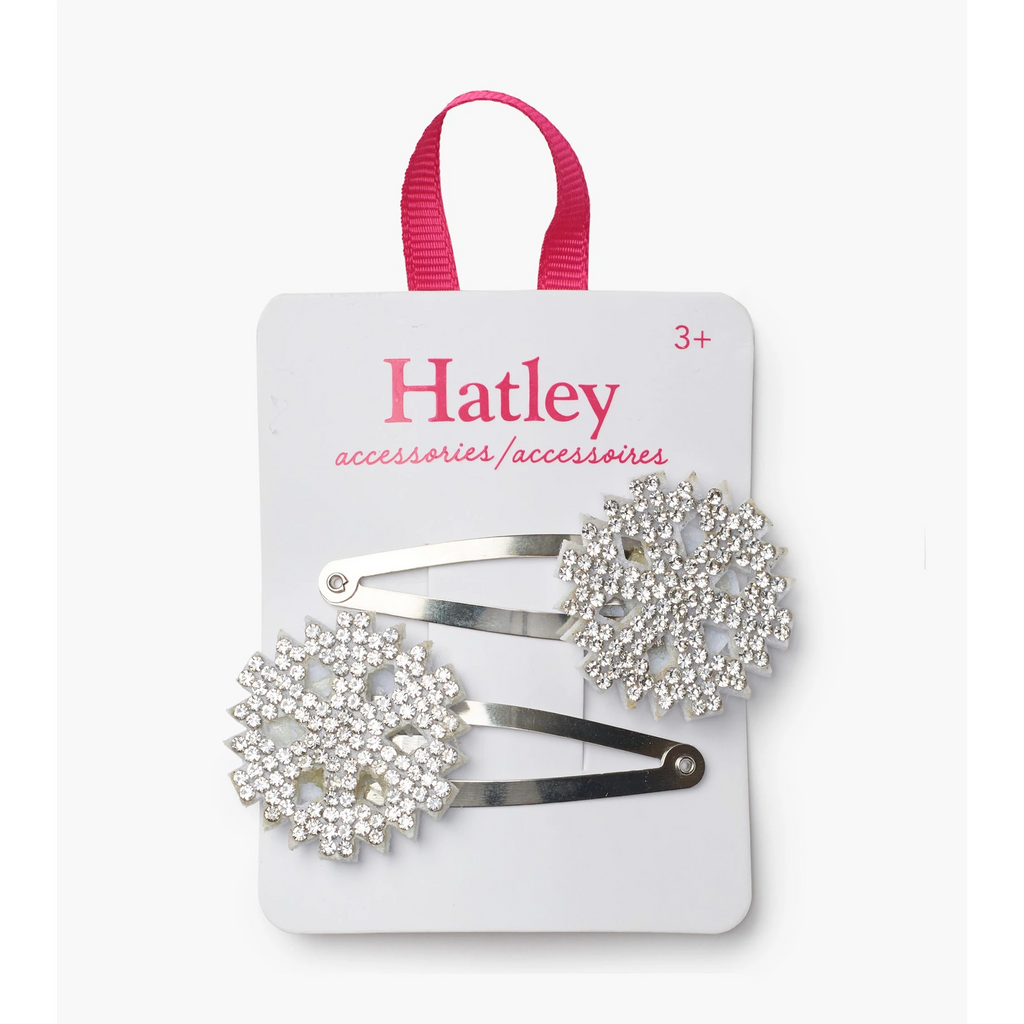 Accessory - Hatley Kids Snowflakes Snap Clips