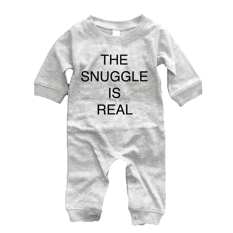 Romper - Kids The Snuggle Is Real Romper
