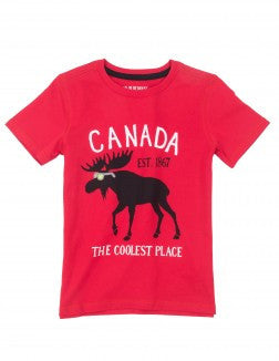 Top - Hatley Kids Coolest Place Crew Neck Tee