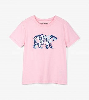 Top - Hatley Kids Sister Bear Crew Neck Tee