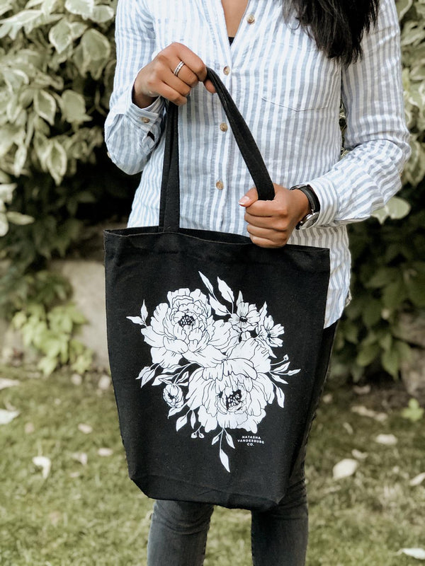 Accessory - Market Peonies Tote Bag