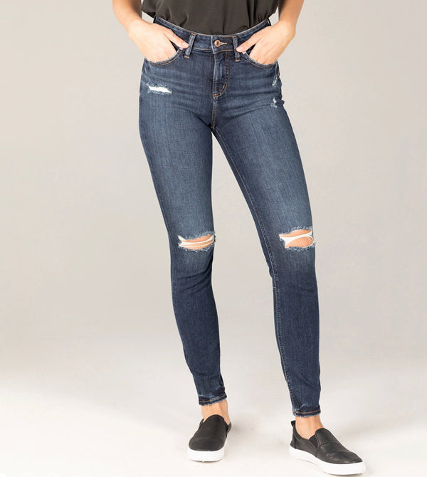 Pants - Silver Jeans Isbister Distressed Denim Jeans