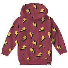 Top - Whistle & Flute Kids Lightning Bolt Hoodie