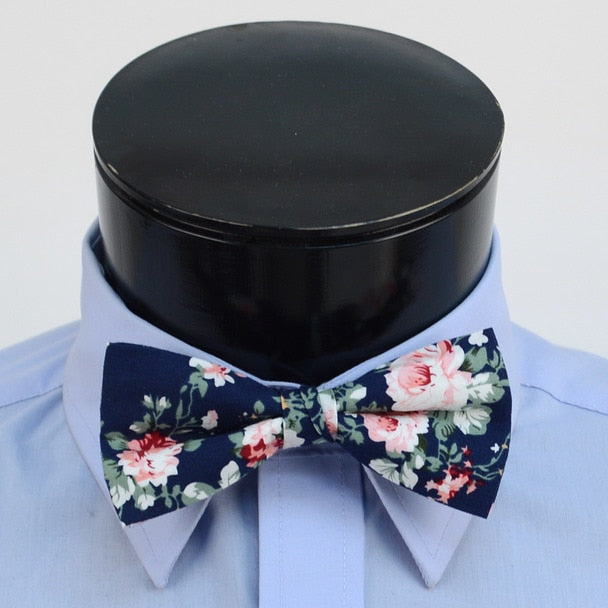 Accessory - Floral Bow Tie