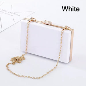 Personalised Acrylic Clutch Purse  *