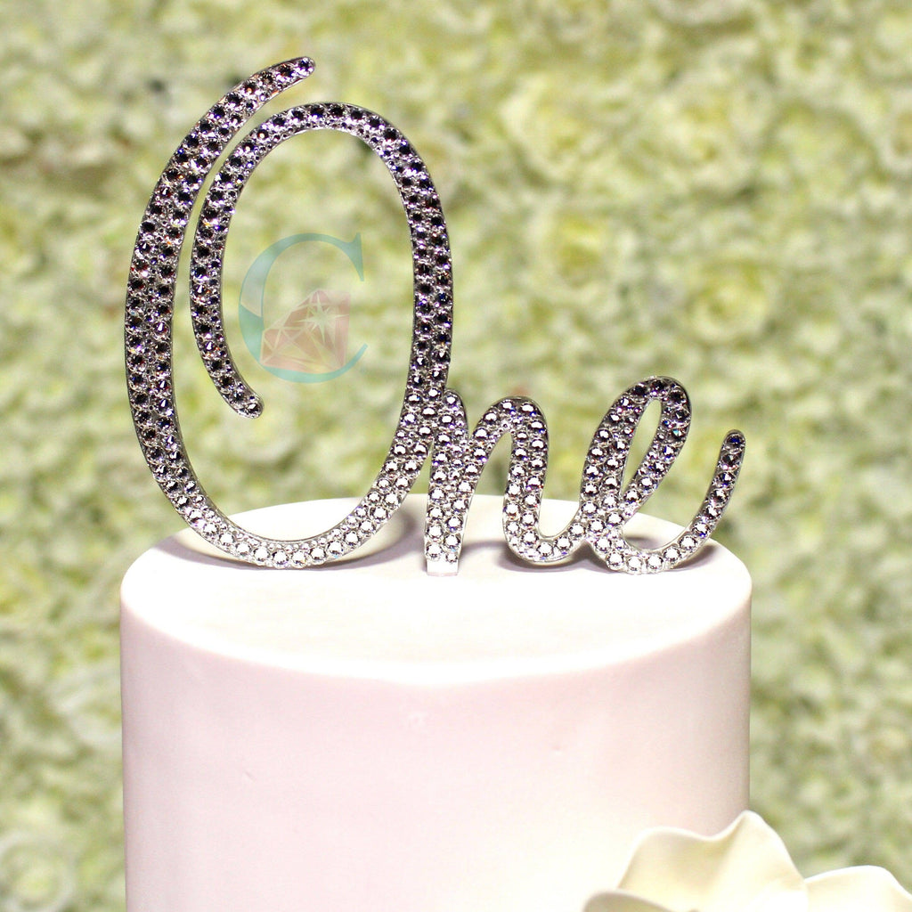 Written Number Cake Topper - Sweet Script * - It's Crystalicious®