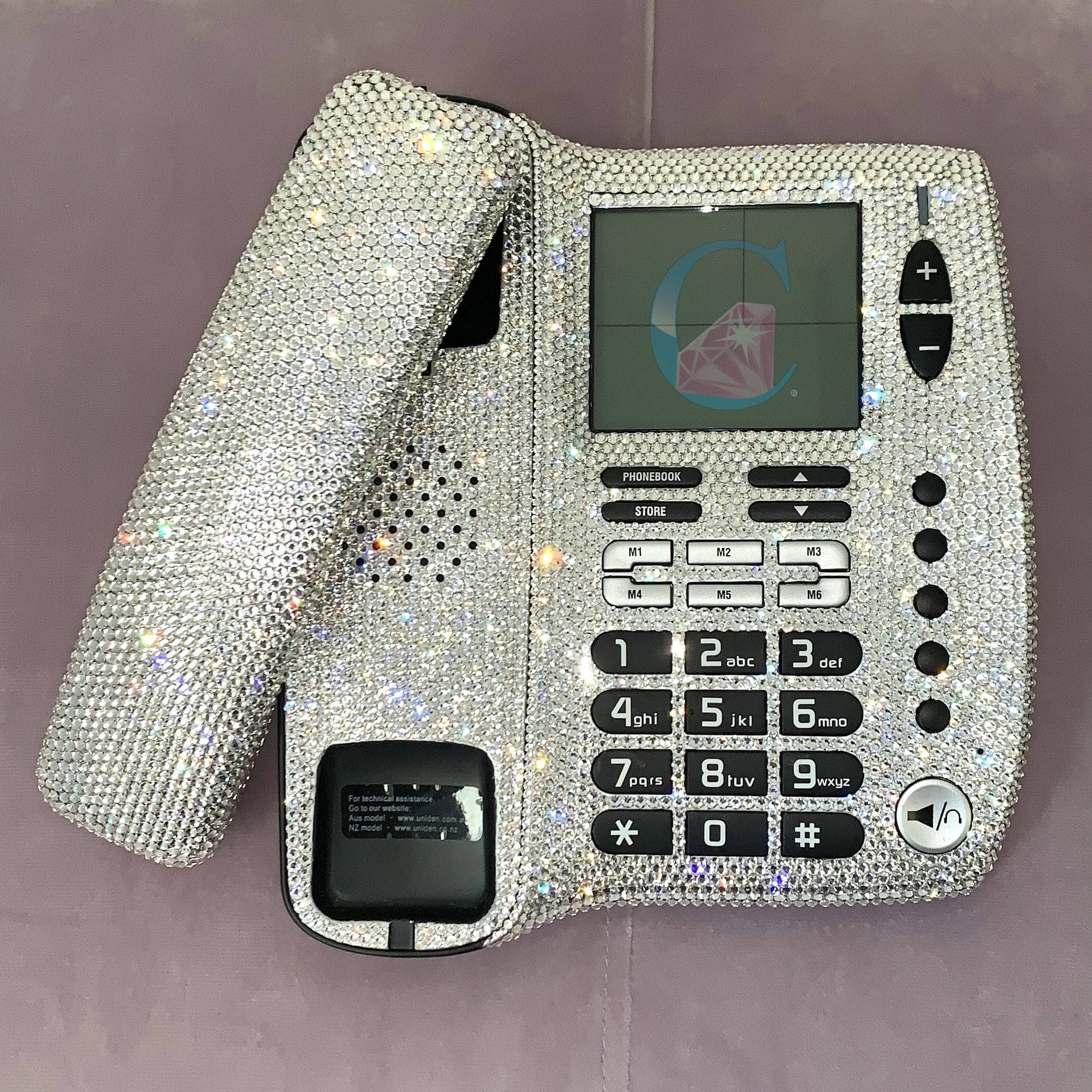 Crystalicious® Desk Phone * - It's Crystalicious®